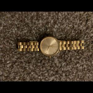 Nixon Kensington gold watch